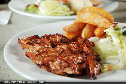 Bistro@Changi - Grilled Hickory Chicken Chop