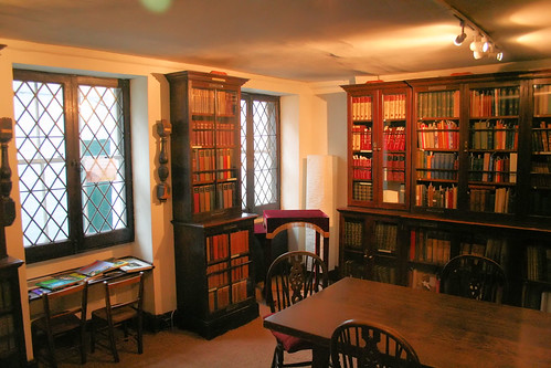 Basement library