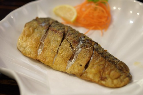 Grilled Saba (Mackerel) @ Sushi Motto