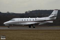 CS-DXF - 560-5586 - Netjets Europe - Cessna 560XL Citation XLS - Luton - 100225 - Steven Gray - IMG_7371