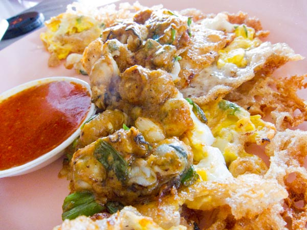 Or Chien (Fried Oysters)