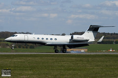 N846QM - 626 - Private - Gulfsteam V - Luton - 100421 - Steven Gray - IMG_0170
