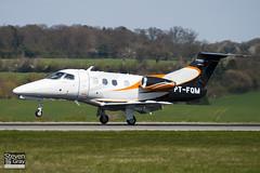 PT-FQM - 50000139 - Embraer - Embraer EMB-500 Phenom 100 - Luton - 100421 - Steven Gray - IMG_0217