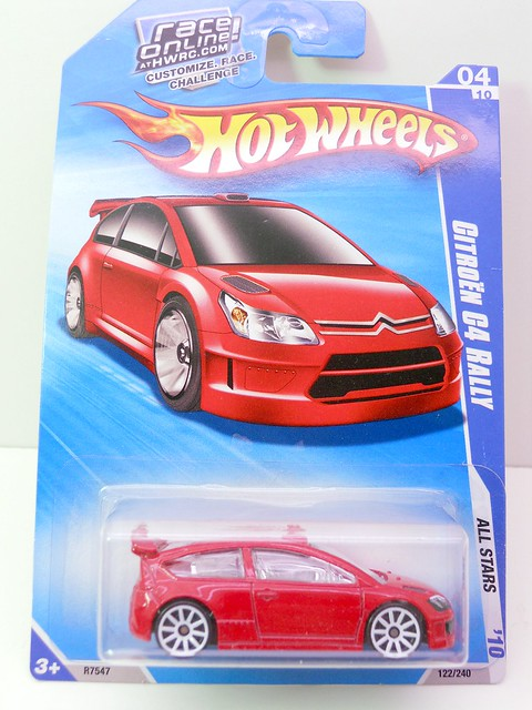 hot wheels citren c4 rally long card  (1)