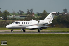 G-SYGC - 525A-0360 - Synergy Aviation Ltd - Cessna 525A Citation CJ2 - Luton - 100427 - Steven Gray - IMG_0446