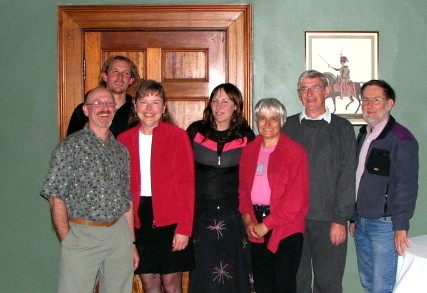Lawrie, Ben, Lynn, Lisa, Pat, Laurie, and Dick