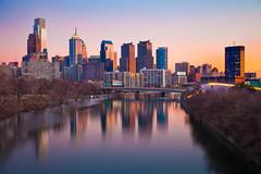 Philadelphia Sunset (chris lazzery) Tags: longexposure sunset philadelphia pennsylvania canon24105mmf4l 5dmarkii bw30nd