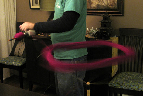 DIY winding in action!