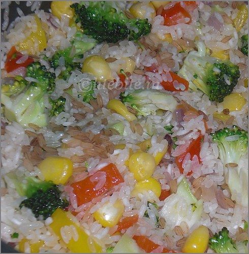 Easy Risotta with Loads of Veggies