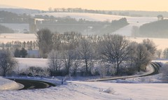 (:Linda:) Tags: road snow tree germany village curvy thuringia viaduct curve highwaybridge kurve viadukt brnn kurvig strase landstrase landstrasenimschnee