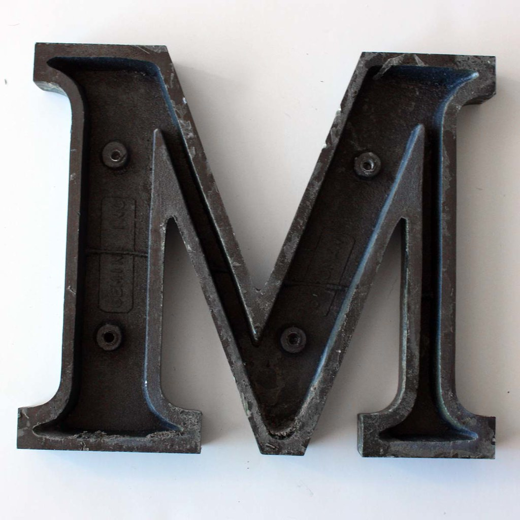 Letter M Small-4