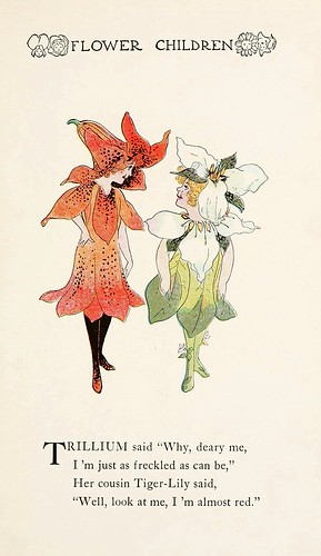 010-Flower children…1910- Elizabeth Gordon- Illustrated by M. T. Ross