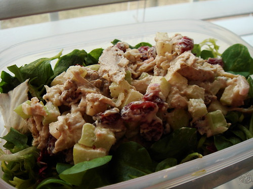Cranberries Walnuts Apples Chicken Salad