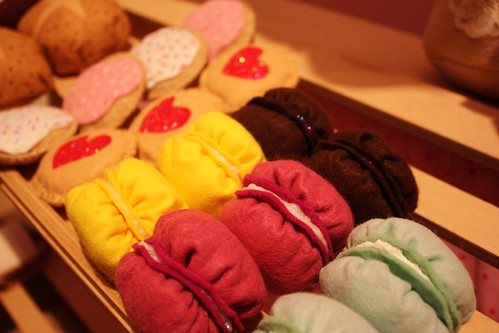 Felt Macaroons and Cookies