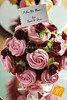 Pink & Red Cupcake Bouquet