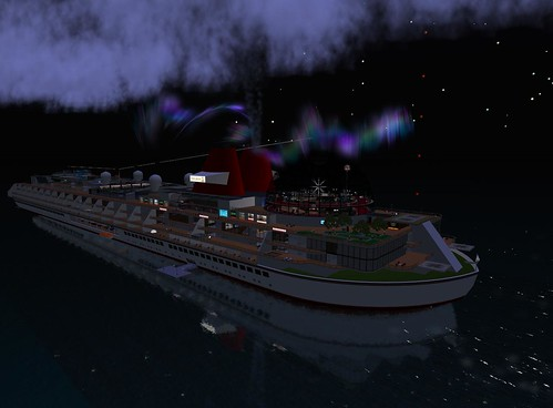 SS Galaxy on New Year's Night