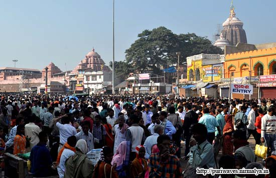Darshan of Lord Sri Jagannath on the occassion of new year