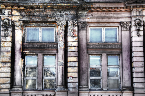 Windows in ruins. Budapest. Ventanas en ruinas