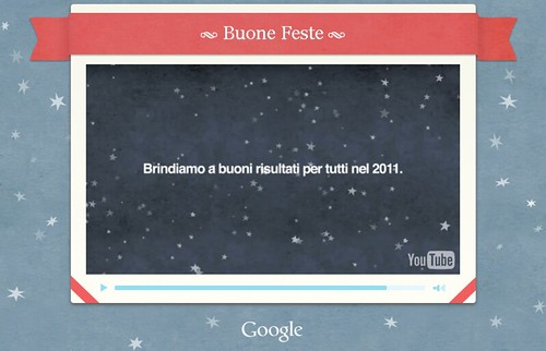 Buone feste da Google Chrome