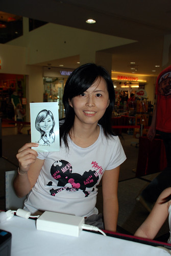 digital caricature live sketching @ Liang Court - day 3 - 3b