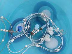 Custom Jewelry (shakeyourbeadie) Tags: necklace earring jewelry crystalheart bridaljewelry crystalearrings swarovskicrystalheart crystalheartearrings