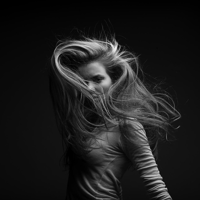 hairs photo - Tanja/ by Marc Laroche