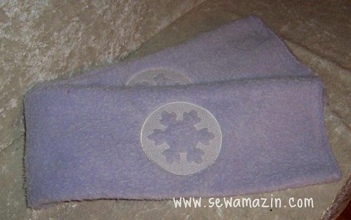Embossed Scarf