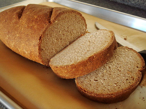 Whole Wheat Bread: Sliced