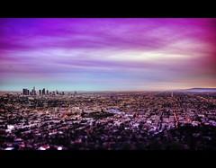 Happy New Year LA! (California CPA) Tags: sunset color clouds lumix lights losangeles panasonic filter downtownla 20mm griffithpark hdr artwalk f17 gf1