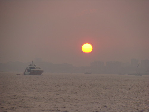 Sunset at Mumbai