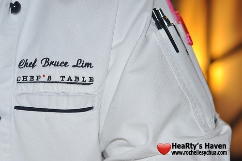 chef bruce uniform