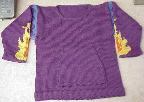 FlamesSweater