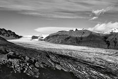 Skaftafellsjkull (Gunnar Marel) Tags: film iceland glacier ilforddelta400 skaftafell inspiredbyanseladams