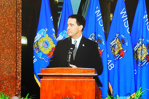 Gov. Walker's Convenient, Selective Blindness