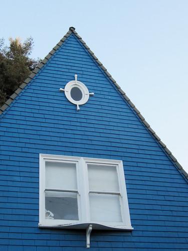 Blue Steeple Building