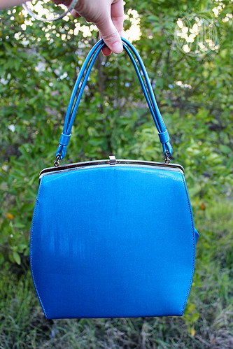 fabulous blue purse