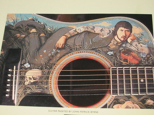 gerry rafferty painted guitar