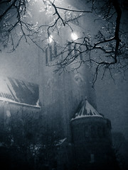 (gothicburg) Tags: church night gteborg sweden gothenburg sverige sn natt kyrka vasakyrkan mrkt sweetswedishwinter