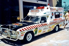Holden HZ 1 Tonner ambulance (sv1ambo) Tags: gm general rally transport superior ambulance motors queensland service hz industries holden brigade 1tonner qatb
