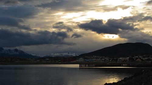 Ushuaia Bay - Tierra del Fuego, Argentina