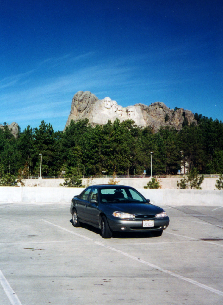 Ford Contour SE Sport (US) at Mt. Rushmore