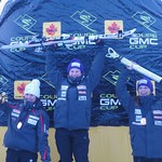 Jocelyn Ramsden wins Gold, Mackensey Young grabs Bronze at day one of Lake Louise GMC Cup Giant Slalom