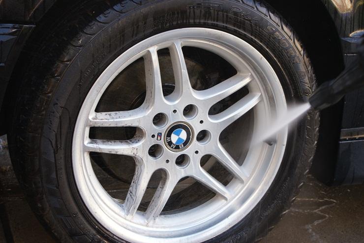 wheel rinse