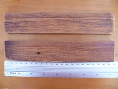2 pedaços de 21 cm