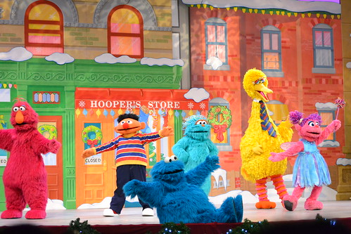 Sesame Street Show at Sea World