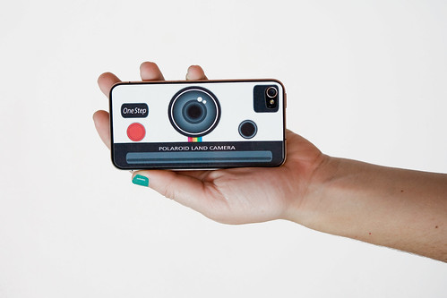 POLAROID LAND CAMERA DECAL