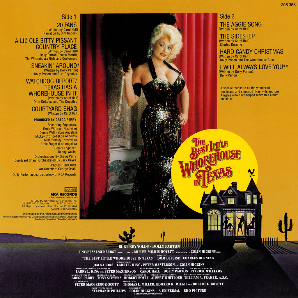 2a80ce0c47d24 ... Dolly Parton - The Best Little Whorehouse in Texas