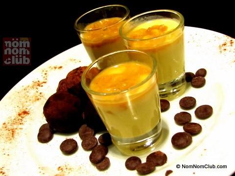 Panna Cotta & Chocolate Truffles