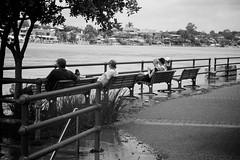 Waiting on the impending doom, Teneriffe (DjMagra) Tags: city urban water river flooding flood destruction australia brisbane disaster qld queensland floods newfarm teneriffe riveer newstead 2011 bigwet thebigwet qldfloods