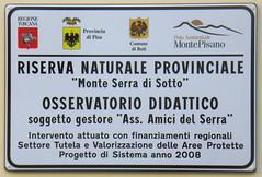 """Riserva naturale provinciale """"Monte Serra di sotto"""""""